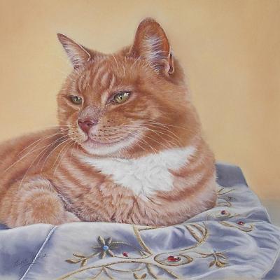 Jack Silk Blanket-Janet Pidoux-Giclee Print