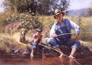 Fishin' with Grandpa by Jack Sorenson