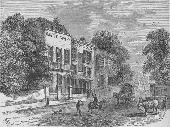 Jack Straw's Castle, Hampstead, London, c1900 (1911)-Unknown-Giclee Print