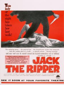 Jack the Ripper, Movie Poster, USA, 1959