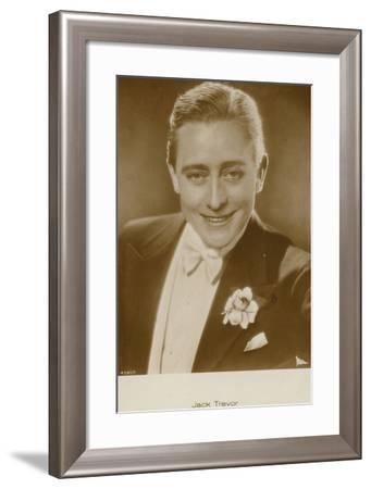 Jack Trevor--Framed Photographic Print