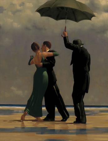 Dancer in Emerald by Jack Vettriano
