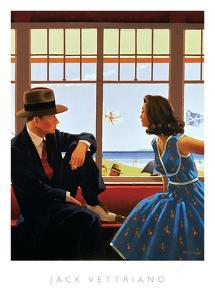 Edith and the Kingpin by Jack Vettriano