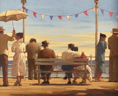 The Pier by Jack Vettriano
