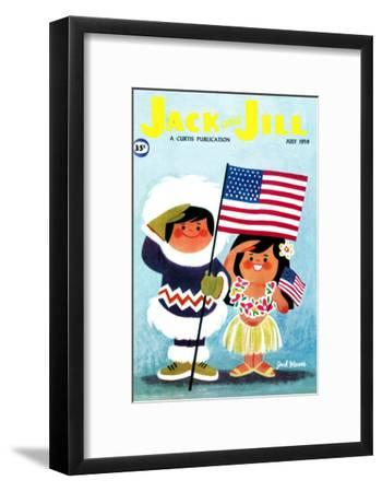 Alaska and Hawaii - Jack and Jill, July 1959