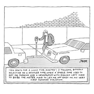 Captionless - New Yorker Cartoon by Jack Ziegler