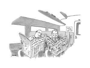 New Yorker Cartoon by Jack Ziegler