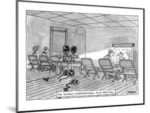 Tenafly International Film Festival - New Yorker Cartoon by Jack Ziegler