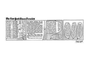 The New York Times Funnies - New Yorker Cartoon by Jack Ziegler
