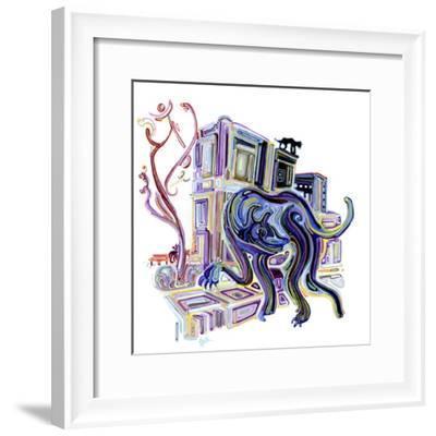 Jackals-Josh Byer-Framed Giclee Print
