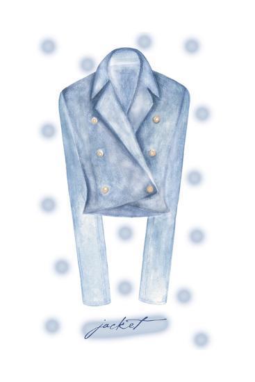 Jacket-Maria Trad-Premium Giclee Print