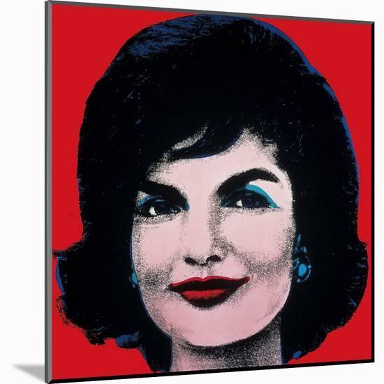 Jackie, 1964-Andy Warhol-Mounted Art Print