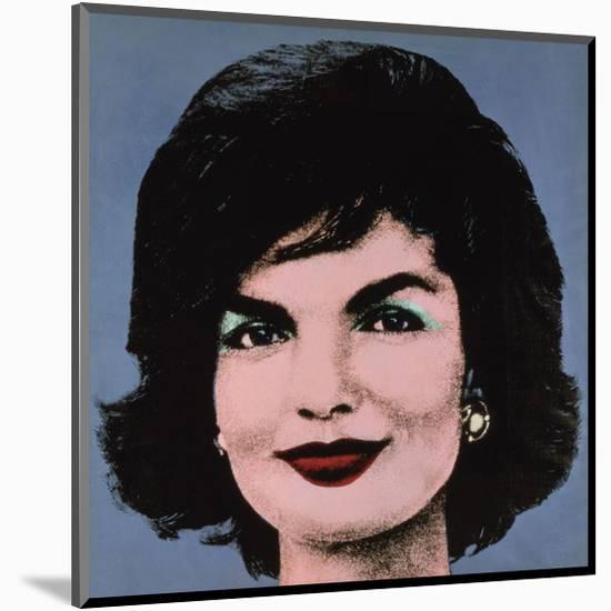 Jackie, 1964-Andy Warhol-Mounted Giclee Print