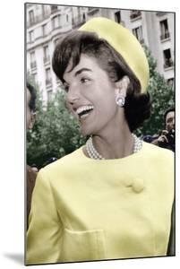 Jackie Kennedy a Paris