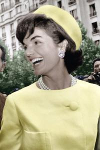 Jackie Kennedy a Paris