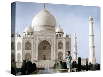 Jackie Kennedy in Front of the Taj Mahal, 15th March, 1962