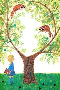 Raccoons - Jack & Jill by Jackie Lacy