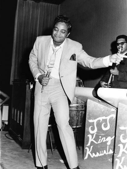 Jackie Wilson - 1967-Bob Johnson-Photographic Print