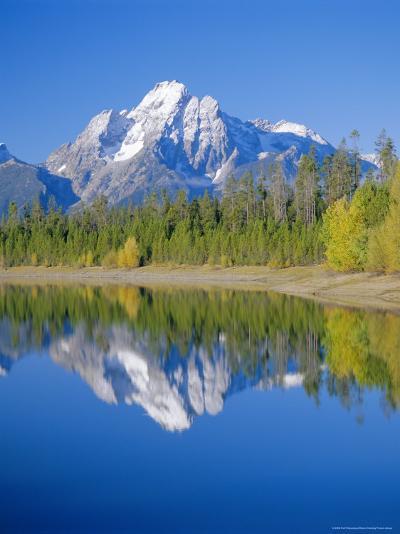 Jackson Lake, Colter Bay, Grand Teton National Park, Wyoming, USA-Rolf Richardson-Photographic Print