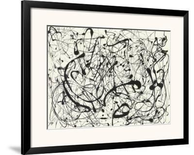 No. 14 (Gray) by Jackson Pollock
