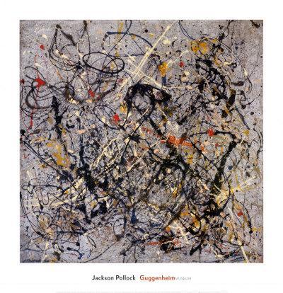 Number 18, 1950Jackson Pollock. Art Print