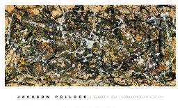 Number 8, 1949-Jackson Pollock-Mounted Art Print