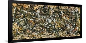 Number 8, 1949 by Jackson Pollock