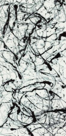 Number II A by Jackson Pollock
