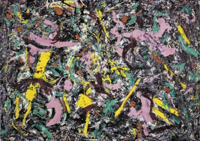 Unformed Figure, 1953           by Jackson Pollock