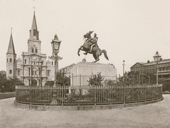 Jackson Square, New Orleans--Photographic Print
