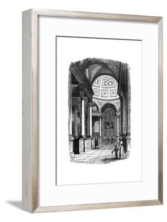 St Stephen's Church, Walbrook, London, 1833