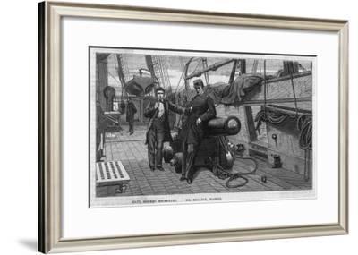 "The Confederate War-Steamer ""Alabama,"" Captain Semmes Secretary"