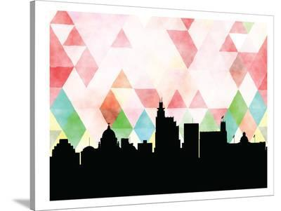 Jackson Triangle-Paperfinch 0-Stretched Canvas Print