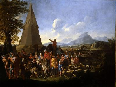 Jacob and His Family Entering Egypt-Willem Reuter-Giclee Print