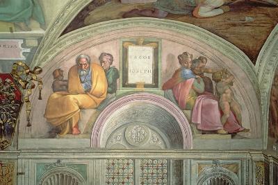 Jacob and Joseph, Sistine Chapel--Giclee Print