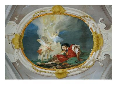 Jacob and the Vision of the Heavenly Ladder-Giambattista Tiepolo-Giclee Print