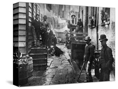 Riis: Bandits' Roost, 1887