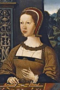 Portrait of Isabella of Austria, Queen of Denmark, Ca 1524 by Jacob Cornelisz van Oostsanen