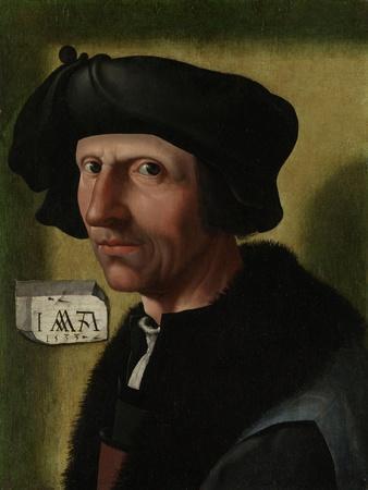 Portrait of Jacob Cornelisz Van Oostsanen, C.1533