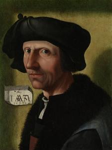 Portrait of Jacob Cornelisz Van Oostsanen, C.1533 by Jacob Cornelisz van Oostsanen