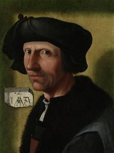 Portrait of Jacob Cornelisz Van Oostsanen by Jacob Cornelisz van Oostsanen