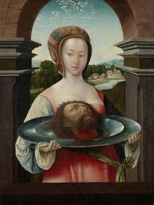 Salome with the Head of John the Baptist, 1524 by Jacob Cornelisz van Oostsanen