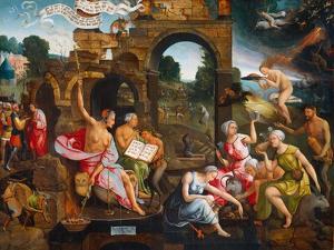 Saul and the Witch of Endor, 1526 by Jacob Cornelisz van Oostsanen