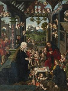 The Adoration of the Christ Child, C.1515 by Jacob Cornelisz van Oostsanen