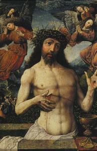 The Man of Sorrows by Jacob Cornelisz van Oostsanen