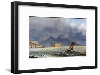 Storm Passing over Vesuvius, c.1840-50