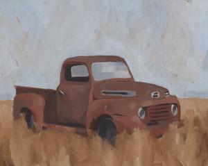 Farm Truck V by Jacob Green