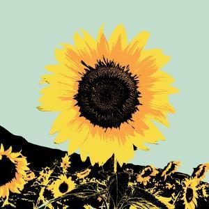 Pop Art Sunflower I by Jacob Green
