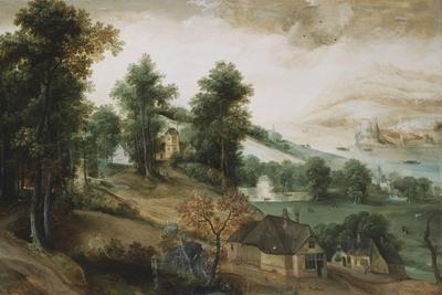 An Extensive Landscape with Cottages in the Foreground, 1561