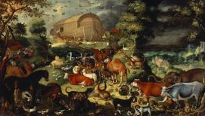 The Animals Entering the Ark by Jacob II Savery